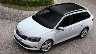 Production Launch For the New Skoda Fabia Estate