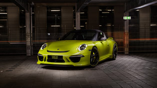 techart porsche targa 4 in lime yellow [yes or no?]