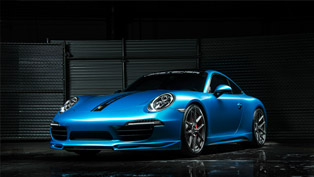 Vorsteiner Porsche 911 Carrera S Runs Faster With V-FF 101 Wheels?