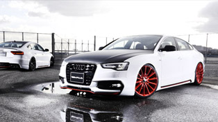 Wald International's Sportsline Package is Ready to Adorn the Audi A5 Sportback
