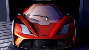 ktm x-bow gt4 teased with 320 hp