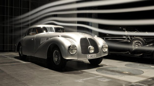 Mercedes-Benz 540 K Streamliner at Retromobile