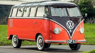 1955 Volkswagen Type 2 Samba Microbus Auctioned