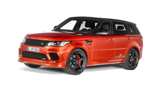 AC Schnitzer Range Rover Sport Gains Aesthetic Package and More Horsepower