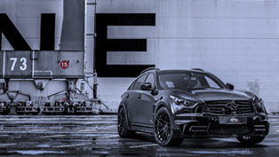 AHG-Sports LR3 Infiniti QX70 Wows with 420 HP