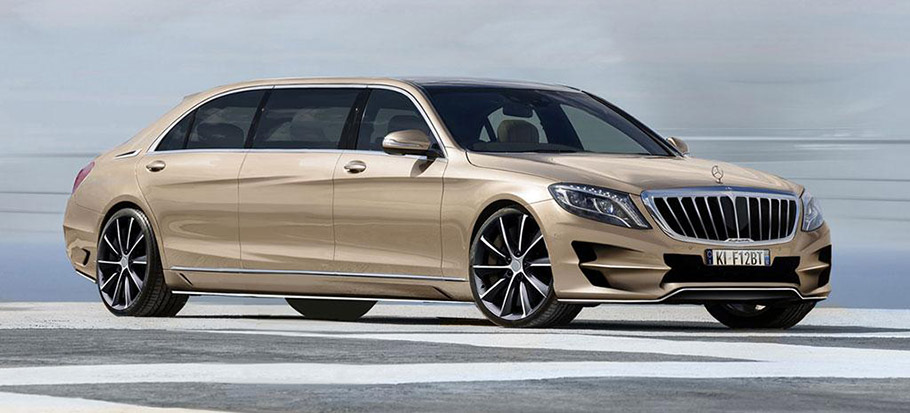 Ares atelier mercedes benz s class xxl will resist for Mercedes benz car payment