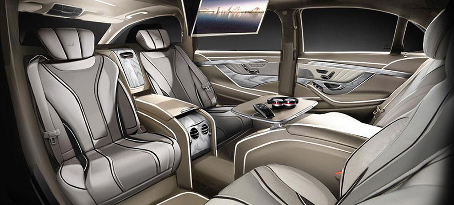 ares atelier mercedes benz s class xxl will resist military weapons. Black Bedroom Furniture Sets. Home Design Ideas