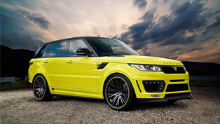 Aspire Design Crafts Styling Tweaks for Range Rover Sport