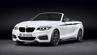 BMW 2 Series Convertible: Extra Style with M Performance Parts