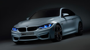 BMW Shows M4 Concept Iconic Lights