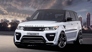 2015 Range Rover Sport with Enhanced Attractiveness