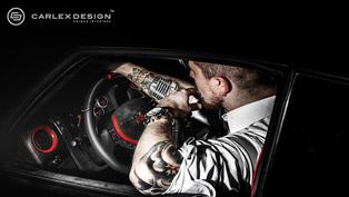 Carlex Design Nissan GTR Red Katana Evokes Admiration