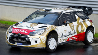 new livery for citroen ds3 wrc and start of the 2015 season