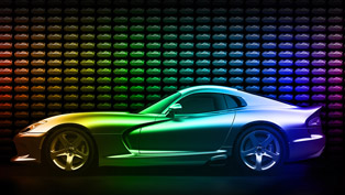 8,000 Exterior Color Options For Dodge Viper GTC