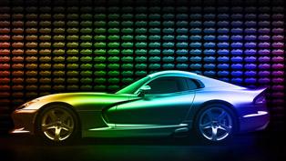 8,000 Exterior Color Options For Dodge Viper GTC