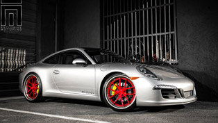 porsche 911 carrera tweaked by exclusive motoring
