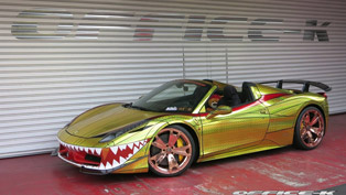 ferrari 458 spider uglier than ever