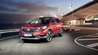 See How Honda Have Updated the 2015 CR-V