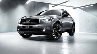 Infiniti QX70 with a Head-turning S Design