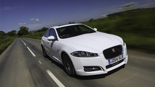 jaguar's exclusive new model is dubbed xf r-sport black