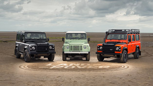 Land Rover Shows Trio of Defender Limited Editions [VIDEO]