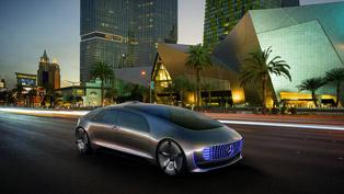 Mercedes-Benz F 015 Luxury in Motion: Automobile Revolution