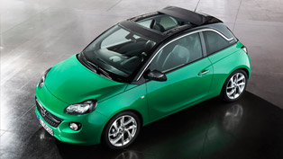 Opel ADAM Gets new Swing Top Roof and Greater Efficiency