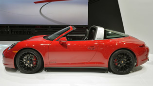 2015 Porsche 911 Targa 4 GTS with 440 HP and Great Noise [VIDEO]