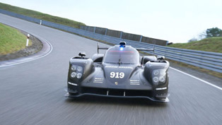 2015 Porsche 919 Hybrid Makes Track Debut in Abu Dhabi