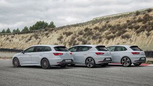 the new seat leon st curpa conveys compact sportiness