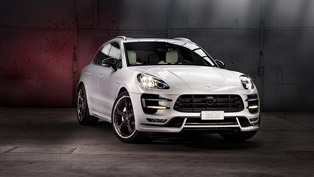 Porsche Macan with Exclusive Interior by Techart