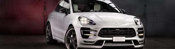 Porsche Macan with Exclusive Interior by Techart