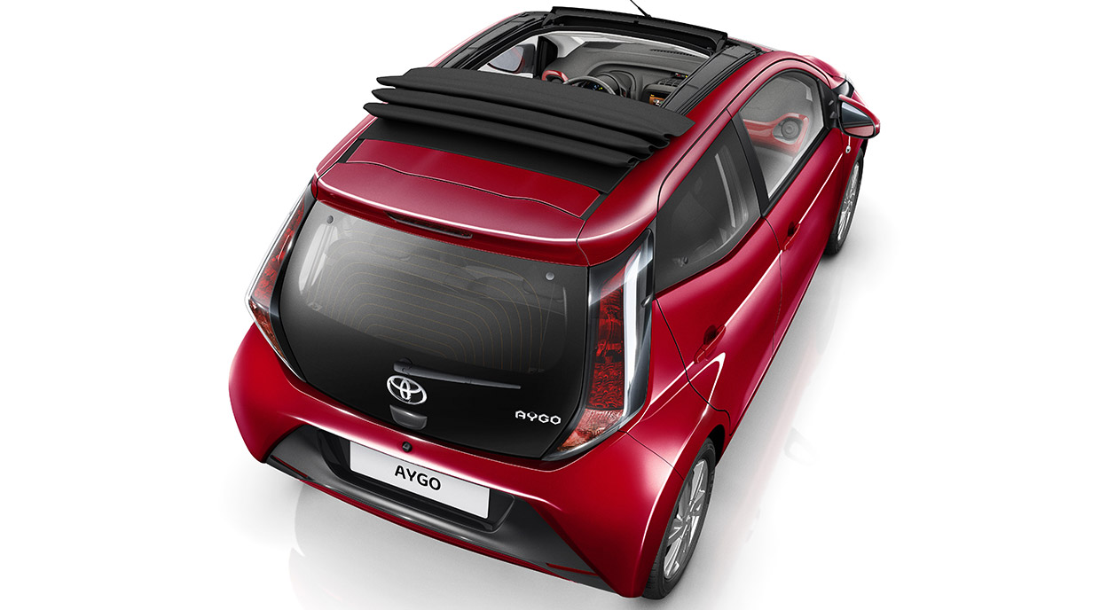 Toyota Aygo X Wave Open Top For Ultimate Driving Fun
