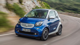 smart fortwo perfect for the urban traffic