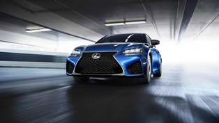 lexus reveals its gs f saloon