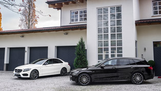 Mercedes-Benz C 450 AMG with an Extra Oomph