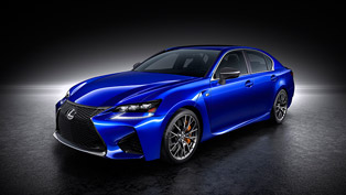 when performance comes in blue: 2016 lexus gs f