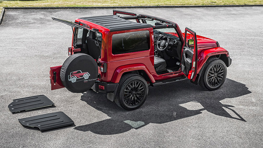 Kahn Shows Off With Chelsea Truck Company Jeep Wrangler