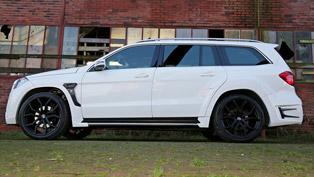 Larte Design Mercedes-Benz GL Black Crystal with Swarovski Accents