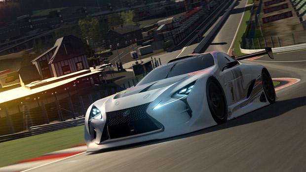 Exclusive: Lexus Reveals LF-LC GT Vision Gran Turismo