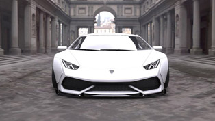 liberty walk lamborghini huracan brings the sound of extreme power