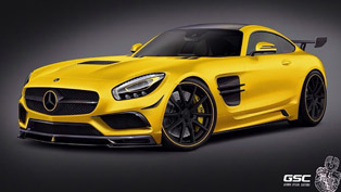 Mercedes-AMG GT Tweaked by German Special Customs