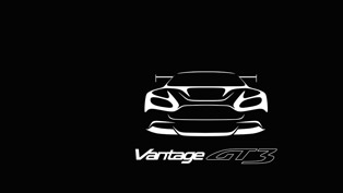 aston martin vantage gt3 teased [video]