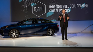 Toyota Opens up Hydrogen Fuel Cell Patents [VIDEO]