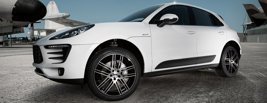 Aez Cliff Dark Alloy Wheels Highlight Cars Like Porsche