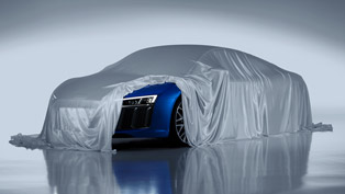Audi Develops the Best Laser Spot High‑beam Lights For Audi R8