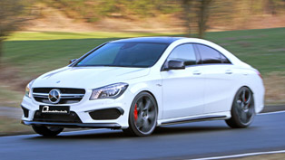 b&b mercedes-benz cla 45 amg is capable of up to 450 hp/580 nm
