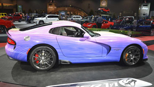 psychodelic dodge viper gtc revealed at 2015 chicago auto show