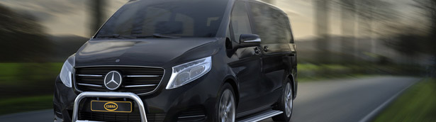 Cobra Accessories Adorn the new Mercedes V-Class and Vito vans