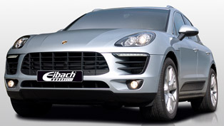 Eibach Refreshes the Porsche Macan S